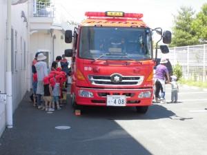 消防車見学3